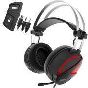 HEADPHONES, Gamdias HEBE E1 RGB, Gaming Headset, Black
