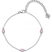 Hot Diamonds Brățară de argint pentru născut în octombrie Anais cuarț roz AB010