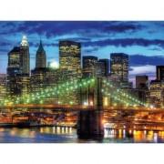Puzzle orizontul orasului New york, 1500 piese Ravensburger
