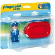 Комплект Плеймобил - Мъж с лодка, 6795 Playmobil, 291091