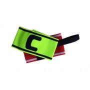 Csapatkapitányi karszalag piros és sárga színben C kapitány jelöléssel