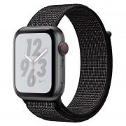 Apple Watch Nike+ Series 4 GPS + Cellular 40mm Alumínio Cinzento Sideral com Bracelete Loop Nike Preta