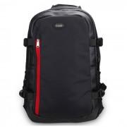 Sidande 3L de gran capacidad Digital SLR camara de almacenamiento de bolsa mochila para Nikon / SONY / Canon - Negro