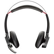 Plantronics Voyager Focus UC B825 Wireless Bluetooth Stereo Headset - Over-the-head - Supra-aural
