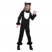 Merkloos Dieren verkleedkleding kat/poes voor kinderen