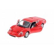 Bburago Ferrari 246 GTB, Red - 26015R 1/24 Scale Diecast Model Toy Car