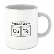 Geeky Valentine You're Cu Te mok