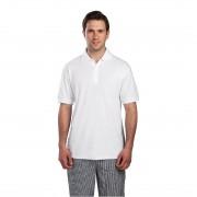 Nisbets Unisex Polo Shirt White L Size: L