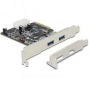 DeLOCK 89398 PCI express 2x USB3.1 kaart