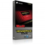 Corsair Vengeance LPX 8GB (1 X 8GB) DDR4 DRAM 2400MHz C14 Red Memory Kit For DDR4 Systems (CMK8GX4M1A2400C14R)