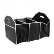 ELECTROPRIME Multi-Function Folding Collapsible Storage Case Bag Box Black for Car Truck
