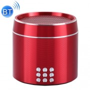 Portable True Wireless Stereo Mini Bluetooth Speaker with LED Indicator & Sling for iPhone Samsung HTC Sony and other Smartphones (Red)