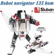 Sluban kocke Robot navigator 135 kom