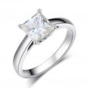 Inel Borealy Aur Alb 14 K Engagement Moissanite Diamond