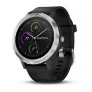 Smartwatch Garmin Vivoactive 3, Steel Black