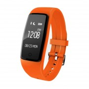 Reloj Smartwatch, S1 Deportes De Moda Reloj De Ritmo Cardíaco De Datos Deportivos Registro GPS Anti-perdido Reloj (naranja)