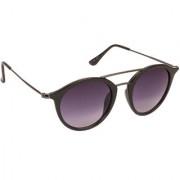 Arzonai Duckworth Black MA-055-S1 Unisex Round Sunglasses