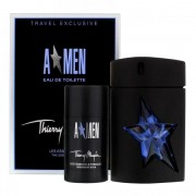 Thierry Mugler A Men 100Ml Apă De Toaletă Rubber Flask + 75Ml Deodorant Stick Set