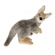 Semo Pluche knuffel kangoeroe 33 cm