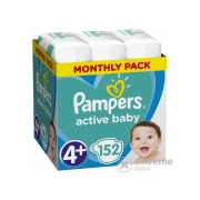 Pampers Active Baby pelenke Monthly Box, 4+- , 152 kom
