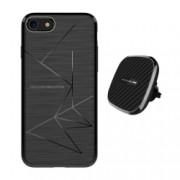 Set Husa Magnetica Nillkin Magic Case Apple iPhone 8 si Incarcator auto Wireless Magnetic Nillkin II Tip B