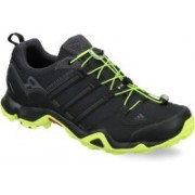 ADIDAS TERREX SWIFT R Outdoor Shoes For Men(Black, Green)