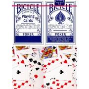 Bicycle Seconds műanyag bevonatú kártya (II. osztály)