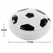 Football Game Toy Soccer Disc for Kids with Foam Bumper and LED Lights