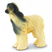 Figurina Caine Afghan Collecta, 7 cm, 3 ani+