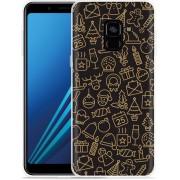 Samsung Galaxy A8 Plus 2018 Hoesje December Mood