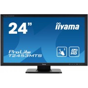 "Touch Screen, IIYAMA 23.6"", ProLite T2453MTS-B1, 4ms, 12Mln:1, DVI/HDMI, Speakers, FullHD"