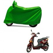 Intenzo Premium Full green Two Wheeler Cover for Hero Electric Optima Plus