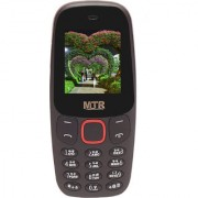 MTR SIMMBA DUAL SIM STRONG BATTERY CAMERA BLUETOOTH BIG SOUND FM MULTIMEDIA MOBILE PHONE IN BLACK COLOR