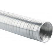 SENCYS flexibele aluminium aan- afvoerslang voor o.a. afzuigkap Ø 100m x 3 meter lang