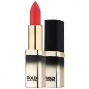 L'Oréal Paris Color Riche Gold Obsession Lippenstift mit 24 Karat Gold Farbton Rouge Gold 7 ml