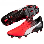 Puma evopower 3.3 fg red / white / black - Scarpe da calcio