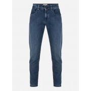 Loro piana Slim-fit jeans in stretch-katoen Blauw denim
