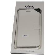 Калъф Viva за HTC ONE M7 Бял