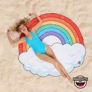 Gigantic Rainbow Beach Towel