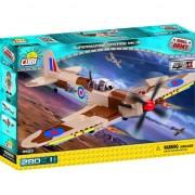 Set de constructie Cobi, Small Army II WW Planes, Supermarine Spitfire Mk. IX (280 piese)
