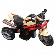 Motocicleta electrica Baby Mix Road Racing Beige