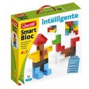 Set Constructie Copii Smart Bloc 11 Piese 4024 Quercetti Piese Multicolore