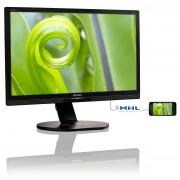 "Philips Brilliance P-line 241P6EPJEB - Monitor LED - 24"" (23.8"" visível) - 1920 x 1080 Full HD (1080p) - ADS-IPS - 250 cd/m² -"