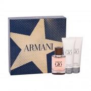 Giorgio Armani Acqua di Giò Absolu set cadou EDP 40 ml + Gel de dus 75 ml + Balsam dupa barbierit 75 ml pentru bărbați
