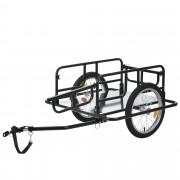 [pro.tec] Nákladný prívesný vozík za bicykel ABBT-3152 čierny