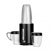 Blender Smoothie Sam Cook PSC-80/B, Cana Sticla, Lame Titan, Putere 1000 W, Fara BPA, 3 Borcane