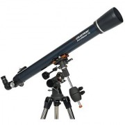 Celestron 21062 AstroMaster 70 EQ Refractor Telescope (Black)
