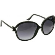 Moschino Oval Sunglasses(Black)