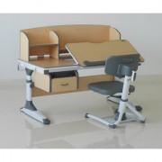 Premium Study Table - Topper 120 - Kids Ergonomic Height Adjustable Desk Chair.