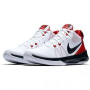 Nike Air Versatile White/Black/University Red Men's Basketball Shoes